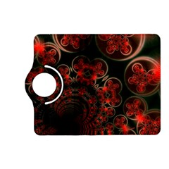 Phenomenon, Orange Gold Cosmic Explosion Kindle Fire Hd 7  (2nd Gen) Flip 360 Case by DianeClancy