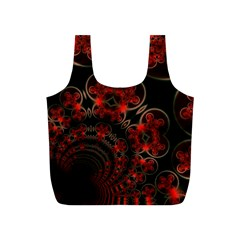 Phenomenon, Orange Gold Cosmic Explosion Reusable Bag (s) by DianeClancy