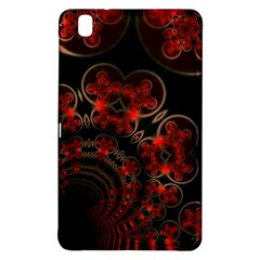 Phenomenon, Orange Gold Cosmic Explosion Samsung Galaxy Tab Pro 8 4 Hardshell Case by DianeClancy