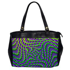 Illusion Delusion Oversize Office Handbag (one Side)