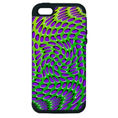 Illusion Delusion Apple Iphone 5 Hardshell Case (pc+silicone) by SaraThePixelPixie