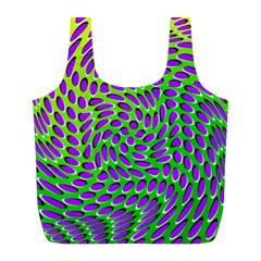 Illusion Delusion Reusable Bag (l)