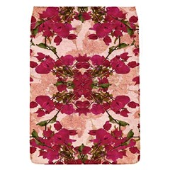 Retro Vintage Floral Motif Removable Flap Cover (small) by dflcprints