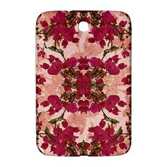 Retro Vintage Floral Motif Samsung Galaxy Note 8 0 N5100 Hardshell Case  by dflcprints