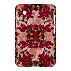 Retro Vintage Floral Motif Samsung Galaxy Tab 2 (7 ) P3100 Hardshell Case  by dflcprints