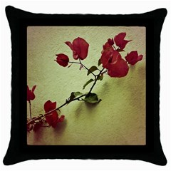 Santa Rita Flower In Warm Colors Wall Photo Throw Pillow Case (black) by dflcprints