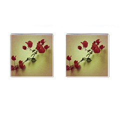 Santa Rita Flower Cufflinks (square)
