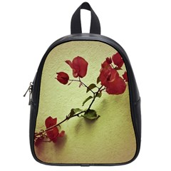 Santa Rita Flower School Bag (small) by dflcprints