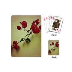 Santa Rita Flower Playing Cards (mini) by dflcprints