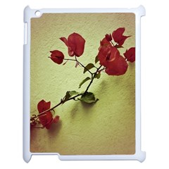 Santa Rita Flower Apple Ipad 2 Case (white) by dflcprints