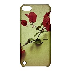 Santa Rita Flower Apple Ipod Touch 5 Hardshell Case With Stand by dflcprints