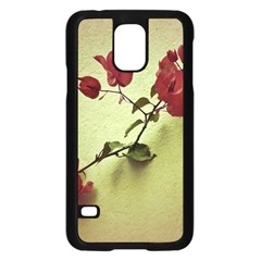 Santa Rita Flower Samsung Galaxy S5 Case (black) by dflcprints