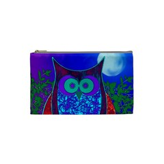 Moon Owl Cosmetic Bag (small)
