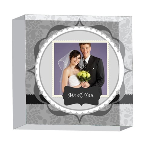 Wedding By Paula Green   5  X 5  Acrylic Photo Block   Suu6kkd9dlrg   Www Artscow Com Front