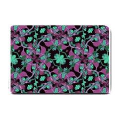 Floral Arabesque Pattern Small Door Mat