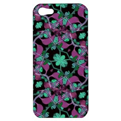 Floral Arabesque Pattern Apple Iphone 5 Hardshell Case