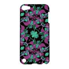 Floral Arabesque Pattern Apple Ipod Touch 5 Hardshell Case by dflcprints