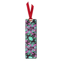 Floral Arabesque Pattern Small Bookmark