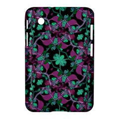 Floral Arabesque Pattern Samsung Galaxy Tab 2 (7 ) P3100 Hardshell Case  by dflcprints