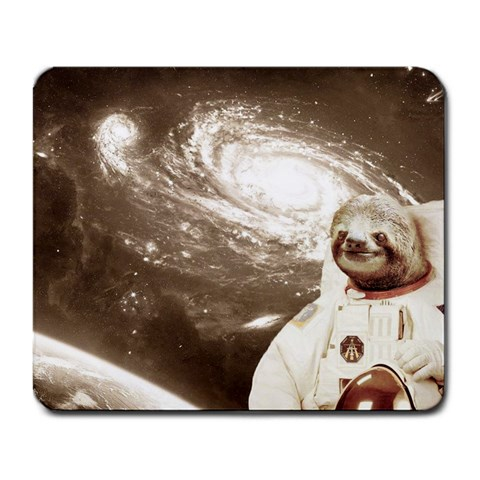 Sloth In Space Mousepad By Coko   Large Mousepad   3ffbq8vy8b6g   Www Artscow Com Front