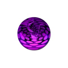 Abstract In Purple Golf Ball Marker 4 Pack by FunWithFibro