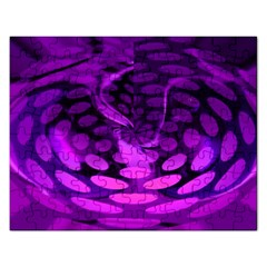 Abstract In Purple Jigsaw Puzzle (rectangle) by FunWithFibro
