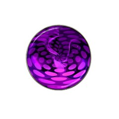 Abstract In Purple Golf Ball Marker 10 Pack (for Hat Clip) by FunWithFibro
