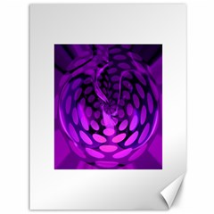 Abstract In Purple Canvas 36  X 48  (unframed) by FunWithFibro