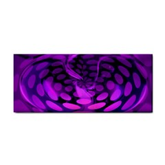 Abstract In Purple Hand Towel by FunWithFibro