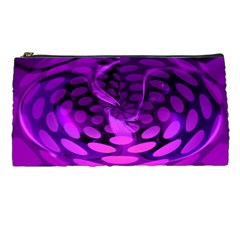 Abstract In Purple Pencil Case