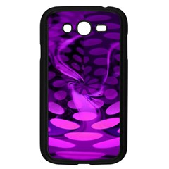 Abstract In Purple Samsung Galaxy Grand Duos I9082 Case (black) by FunWithFibro
