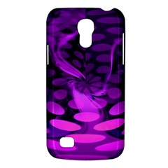Abstract In Purple Samsung Galaxy S4 Mini (gt I9190) Hardshell Case  by FunWithFibro