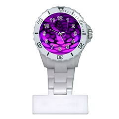 Abstract In Purple Nurses Watch by FunWithFibro