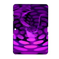 Abstract In Purple Samsung Galaxy Tab 2 (10 1 ) P5100 Hardshell Case  by FunWithFibro