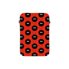 Red Cute Dazzled Bug Pattern Apple Ipad Mini Protective Sleeve by CreaturesStore