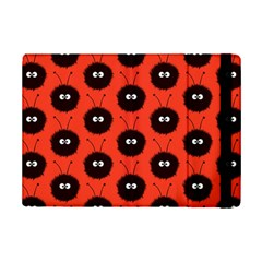 Red Cute Dazzled Bug Pattern Apple Ipad Mini 2 Flip Case