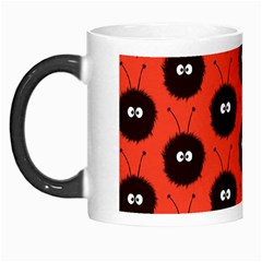 Red Cute Dazzled Bug Pattern Morph Mug by CreaturesStore