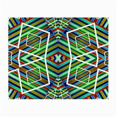 Colorful Geometric Abstract Pattern Glasses Cloth (small, Two Sided) by dflcprints
