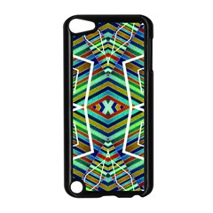 Colorful Geometric Abstract Pattern Apple Ipod Touch 5 Case (black) by dflcprints
