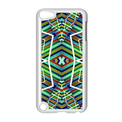 Colorful Geometric Abstract Pattern Apple Ipod Touch 5 Case (white) by dflcprints