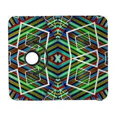 Colorful Geometric Abstract Pattern Samsung Galaxy S  Iii Flip 360 Case