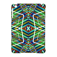 Colorful Geometric Abstract Pattern Apple Ipad Mini Hardshell Case (compatible With Smart Cover) by dflcprints