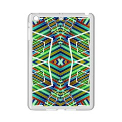 Colorful Geometric Abstract Pattern Apple Ipad Mini 2 Case (white)