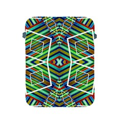Colorful Geometric Abstract Pattern Apple Ipad Protective Sleeve by dflcprints