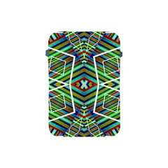 Colorful Geometric Abstract Pattern Apple Ipad Mini Protective Sleeve by dflcprints