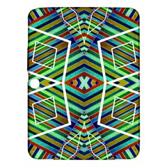 Colorful Geometric Abstract Pattern Samsung Galaxy Tab 3 (10 1 ) P5200 Hardshell Case