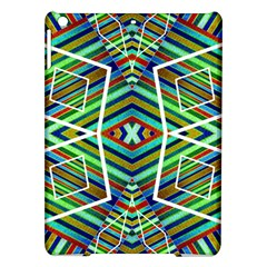 Colorful Geometric Abstract Pattern Apple Ipad Air Hardshell Case by dflcprints
