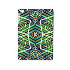 Colorful Geometric Abstract Pattern Apple Ipad Mini 2 Hardshell Case by dflcprints