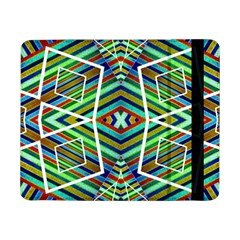 Colorful Geometric Abstract Pattern Samsung Galaxy Tab Pro 8 4  Flip Case by dflcprints
