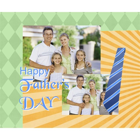 Fathers Day, Dad, Stong, Number 1, Family, Happy, Love, Thank You By Dad   Deluxe Canvas 14  X 11  (stretched)   Iv3dq96fi9f0   Www Artscow Com 14  x 11  x 1.5  Stretched Canvas